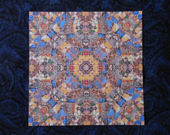 "Blotter Art ""Butterfly pattern"" Collection Perforated Print Paper Acid Art"