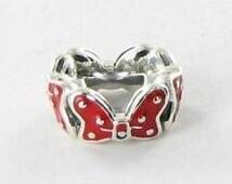 Pandora Disney Minnie's Bow Spacer Bead Charm