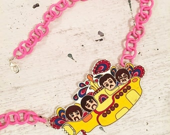 Necklace Yellow Submarine
