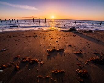 Fine Art Sunrise Seascape Photography Print