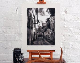 Limited Edition Fine Art 16x12 Black and White Photographic Print Palma De Mallorca