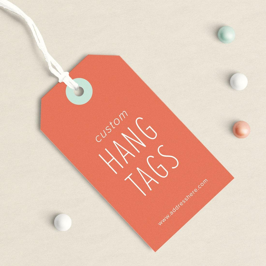 custom clothing tags custom business card tag hang tag. Black Bedroom Furniture Sets. Home Design Ideas