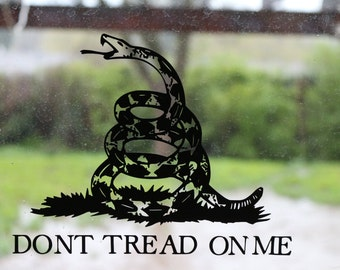 Dont Tread On Me 2nd Amendment Come and Take Them Decal