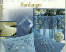 Zweigart Hardanger Book No. 119 with intact Pattern Sheets