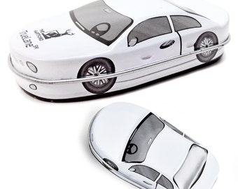 50 CAR Shaped Tins Empty