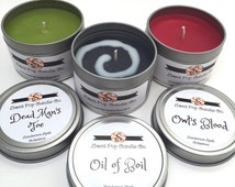 Hocus Pocus Set of 3, 4 oz candles: The Sanderson Spell Collection
