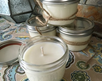 6oz Citronella Mason Jar candles