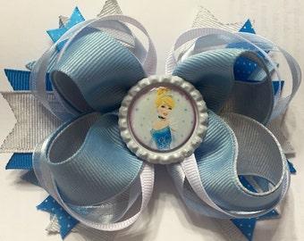 """Cinderella 4"""" Boutique Bow"""