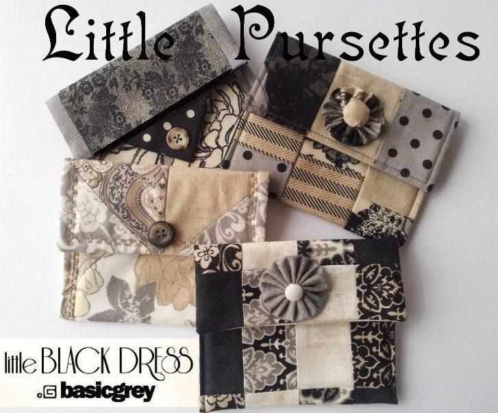Little Black Dress Pursettes Kit Set Of Four Different