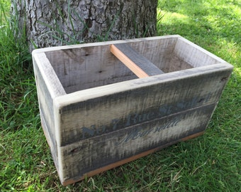 Vintage style fishmongers box trug