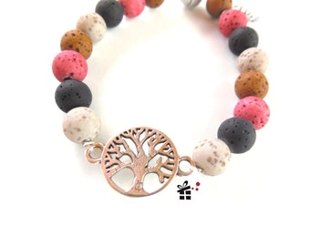 Pearl bracelet ~ tree of life ~