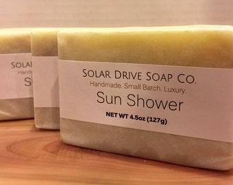 Sun Shower  Handmade Soap