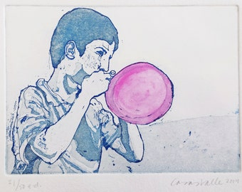 Boy with balloon, from the series Hope