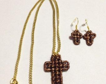Bronze Cross Jewelry