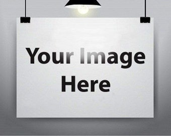 Giclee Custom Art Prints Your Image on Top Quality Canvas Stretched Ready to Hang