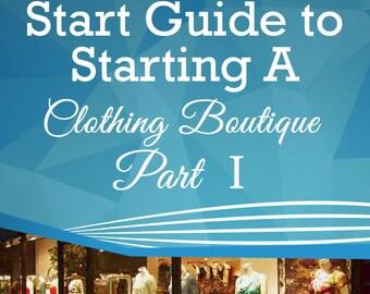 How to Open A Boutique - E Book