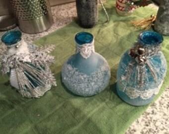 Glass Bottle Home Decor