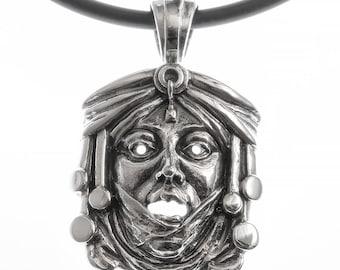 "Sterling silver pendant series ""Art Nouveau Riga"", model Nr.6."