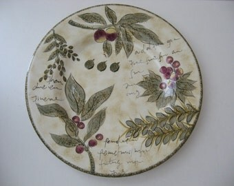 Dinner or Decorative Plate - Sorrento Design