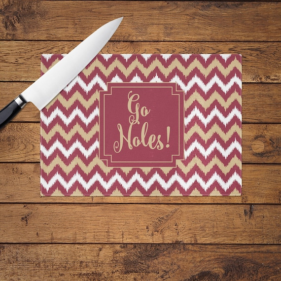 Personalized maroon chevron glass cutting by preppypinkpineapples - Tempered glass cutting board personalized ...