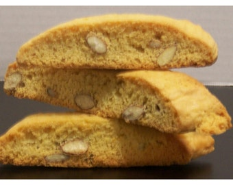 BISCOTTI 1 Dozen homemade (23sweets)/authentic/cookies/food gifts/ gift/home baked goods/sweets/italian/italian cookies/crunchy