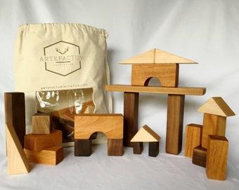 30-Piece Children's Block Set