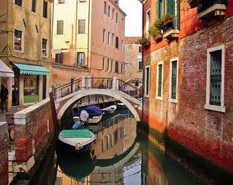 Colorful Venice Reflections