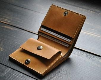 Mens wallet - Genuine leather wallet Personalized gift Custom wallet men Custom bifold men Leather bifold men Groomsmen gift Husband gift