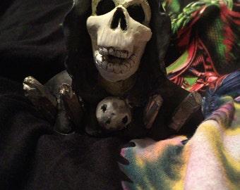 Reaper sculpture
