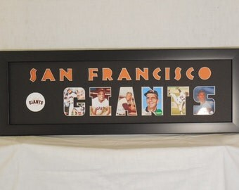 San Francisco Giants old-timers collage