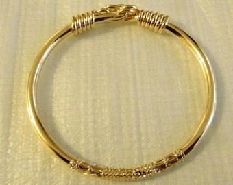 Bracelet Volatarika plated gold