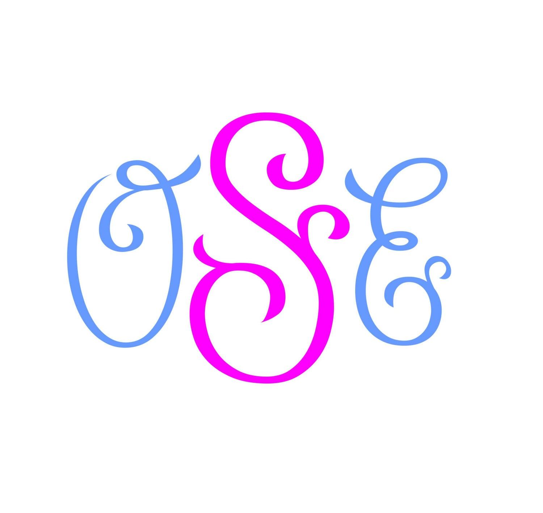 Download Monogram Font Svg Cricut Fonts Svg Fonts Silhouette Cut