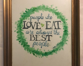 Digital Julia Child Quote