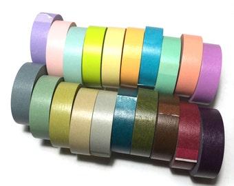 Out of production MT Light / Dark Washi Tape SET Japanese MT Masking Tape