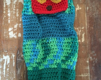 Little Hungry Caterpillar Hat and Cocoon Set