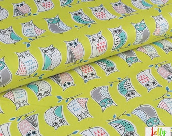 ORGANIC COTTON Fabric - Hootenanny from Anya collection by Monaluna - UK Seller