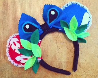 Disney Inspired Lilo and Stitch Mouse Ears