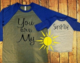You Are My Sunshine Mom & Me Set