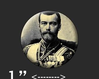"""Nicholas Romanov 1"""" Pin"""