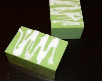 Green Tea & Lemongrass Soap