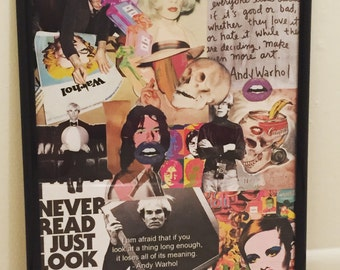 CustommadeCollage Andy Warhol