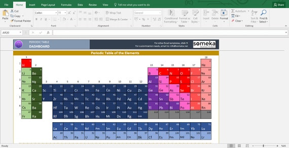 Periodic table worksheet printable excel template te gusta este artculo urtaz Gallery