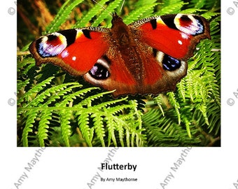 Flutterby - A4 Print