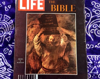 1964 Life Magazine, The Bible, Sowcial Double Issue
