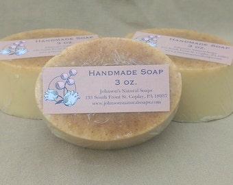 Lemon, Honey & Ginger Soap
