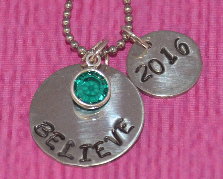 graduation gift graduation necklace personalized
