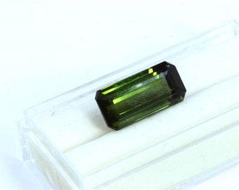 Dignity 10.12 Ct  Natural  Green  Tourmaline