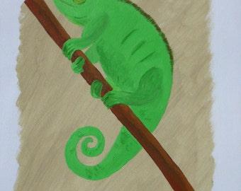 Iguana and Chameleon set