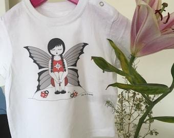 T-shirt baby fairy