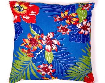 Chita cushion / Pillow BLUE ARARA